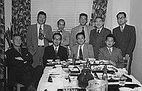 [Keishi no kan zadankai, Little Tokyo, Los Angeles, California, April 2, 1950]