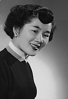 [Nobuko Fujimoto, piano teacher, Los Angeles, California, April 9, 1955]