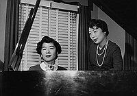 [Nisei Music Guild recital at old Union Church, Los Angeles, California, April 22, 1955]