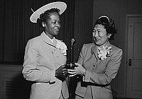 [Sixth Avenue PTA officer installation, Los Angeles, California, May 11, 1955]
