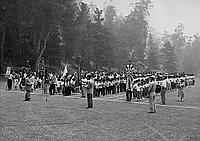 [Kyodo System Nihon Gakuen inter-school annual picnic at Elysian Park, Los Angeles, California, May 29, 1955]