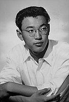 [Takashi Fujii, half portrait, Los Angeles, California, June 7, 1955]