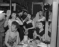 [Fashion show at Ciro's, Los Angeles, California, April 23, 1950]