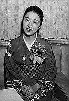 [Miss Mitsuko Kusabuye, an actress of Japan, California, September 27, 1955]