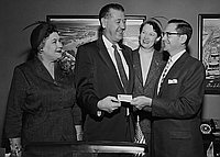 [10th District of California Congress of Parents and Teachers' PTA membership drive, California, September 29, 1955]