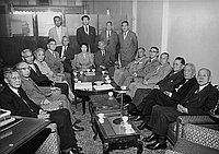 [Pioneer Zadankai at Taiyo Shoken, Los Angeles, California, November 6, 1955]