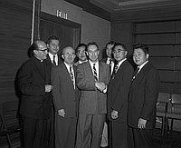 [JACL Testimonial banquet honoring Edward E. Elliott at Hotel Clark, Los Angeles, California, November 12, 1955]