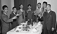 [Office of Foreign Affairs (Japan) at Kawafuku restaurant, Los Angeles, California, May 12, 1950]