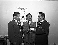 [Japanese American Citizens' League (JACL) 1000 Club membership drive, California, ca. 195]