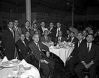 [Republican Assembly dinner at Grand East restaurant, January 28, 1956]