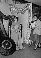 [Japanese Silk Fair at Statler Hotel, Los Angeles, California, February 6, 1955]