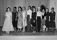 [Founder's Day at Sixth Avenue School, Los Angeles, California, February 6, 1956]