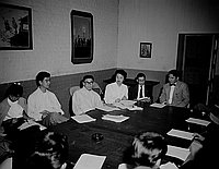 [JACL meeting at International Institute on Boyle Avenue, Los Angeles, California, March 24, 1956]