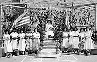 [Florence Ochi, Foshay Junior High School May Queen, Los Angeles, California, May 19, 1950]