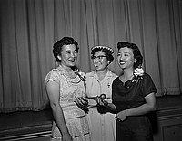 [PTA at Harrison Street Elementary School, Los Angeles, California, June 13, 1956]