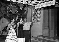 [Pacific Southwest Japanese American Citizens' League District Council preconvention rally at Riviera Club in Redondo Beach, Los Angeles, California, July 28-29, 1956]