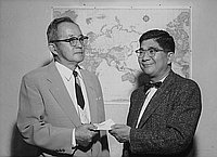 [Two thousand dollar donation to Japanese American Citizens' League, California, September 6, 1956]