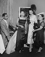 [Sadohara fashion show at Statler Hotel, Los Angeles, California, September 13, 1956]