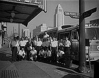 [Japanese All Star baseball team, Los Angeles, California, September 15, 1956]