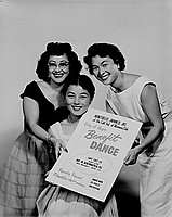 [Montebello Japanese Women's Club Junior benefit dance, September 22, 1956]