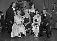 [Montebello Junior Matron benefit dance for the City of Hope, Los Angeles, California, October 1956]