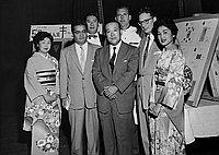 [Japanese Consul General Shigeru Nakamura at Elks Club, California, November 15, 1956]