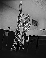 [Hiroshima ken maku at Koyasan, Los Angeles, California, 1956]