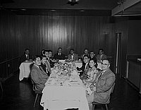 [Japanese American Citizens&#39; League gathering, February 19, 1957]