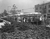 [Brazil Kankodan at Japanese Town, California, March 7, 1957]