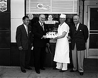 [National Retail Bakers Week, Montebello, California, April 26, 1957]
