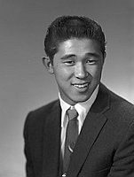 [Don Nakanishi, half-portrait, Los Angeles, California, December 13, 1957]