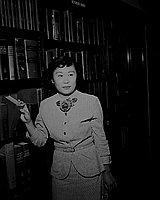 [Fumi Iwasaki and Susie Osuga, July 27, 1950]