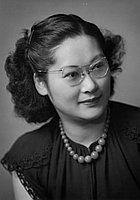 [Fumiko Okuma, head and shoulder portrait, January 17, 1950]