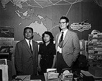[Mr. Blackman and his Japanese wife, California, June 15, 1955]
