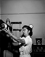 [Taeko Kimura, x-ray technician, Los Angeles, California, July 11, 1955]