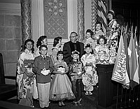 [Golden jubilee celebration of the National Council of Jewish Women, Los Angeles section at Sinai Temple, Los Angeles, California, October 4, 1955]