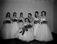 [CINO coronation dance at Institute of Aeronautical Science, Los Angeles, California, December 17, 1955]