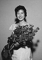 [Carol Yamamisaka, YBA Senshin queen, Los Angeles, California, January 23, 1958]