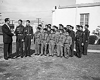 [Explorer Scout awards at Monroe Street Christian Church, California, February 2, 1958]