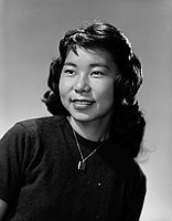 [Diane Morishita, Girls State conference delegate, half-portrait, Los Angeles, California, May 16, 1958]