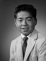 [Jay Akahoshi, American Legion award recipient of Wilson Junior High School, Los Angeles, California, June 23, 1958]
