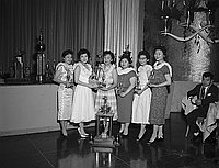 [National JACL Bowling Association at Statler Hilton, Los Angeles, California, March 15, 1959]