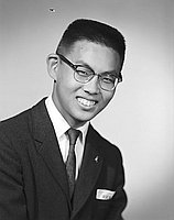 [Kiyoshi Matsuhara, California American Legion Boys State delegate, head and shoulder portrait, Los Angeles, California, June 3, 1959]