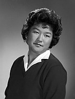 [Alice Toshiko Yamauchi, Gardena High School student body president, head and shoulder portrait, Los Angeles, California, June 19, 1959]