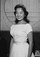 [Downtown JACL Nisei Week queen candidate, June Tsukida, Los Angeles, California, June 1959]