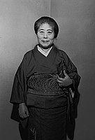 [Mrs. Miyake, portrait, October 26, 1950]