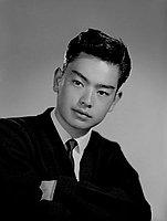 [Alan Miyamoto of Washington High School, California American Legion Boys State delegate, head and shoulder portrait, Los Angeles, California, April 26, 1960]
