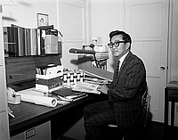 [Osamu Arthur Wakita, Assistant Professor of Architecture at Los Angeles Harbor College, Los Angeles, California, September 10, 1960]
