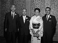 [President of C. Itoh Company of Japan, California, 1960]