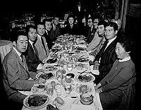 [Nisei Week Coronation Committee at Biltmore Grill, Los Angeles, California, March 22, 1961]